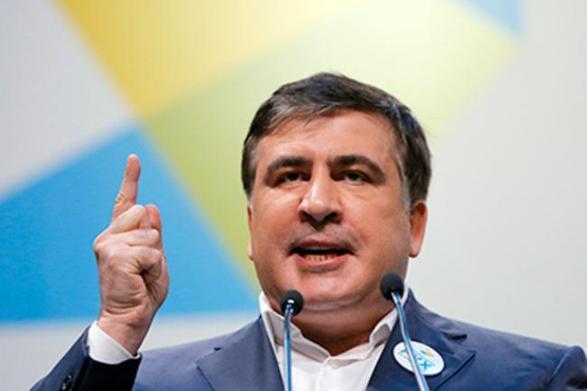 Саакашвили сравнил Порошенко с Януковичем