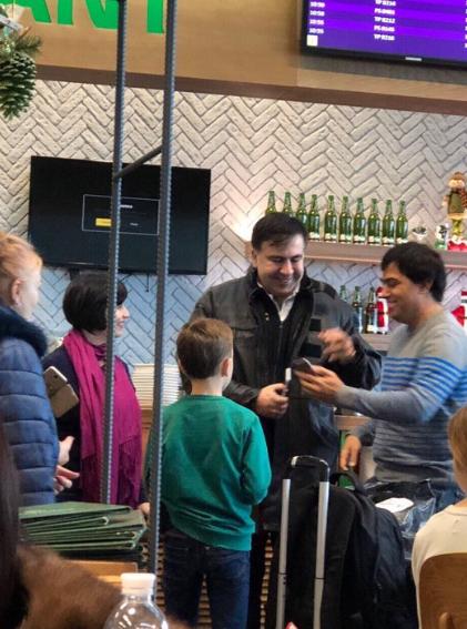 Саакашвили опроверг информацию об отъезде из Украины (ФОТО)