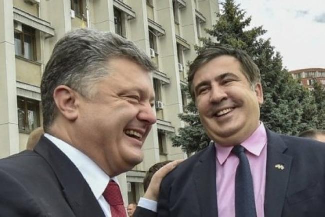 Саакашвили приготовил новогодний «сюрприз» для Петра Порошенко