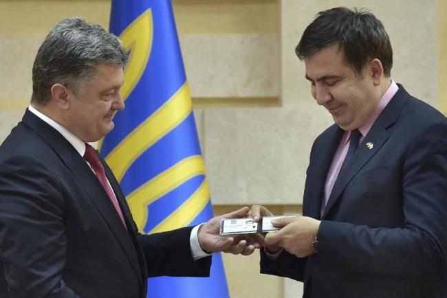 Саакашвили отказался от акций протеста против президента Украины