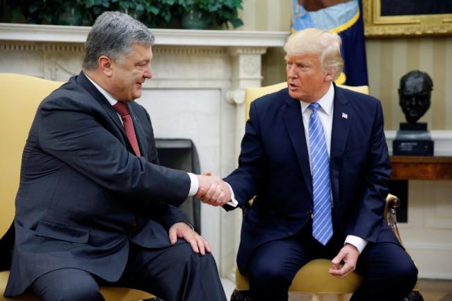 Стало известно, где встретятся Порошенко и Трамп