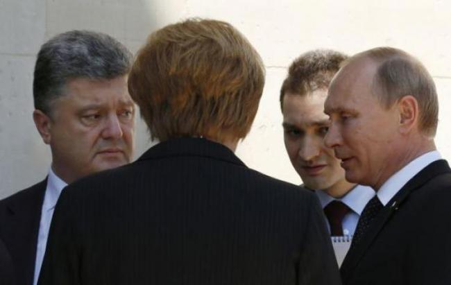 В Кремле рассказали о переговорах Порошенко и Путина