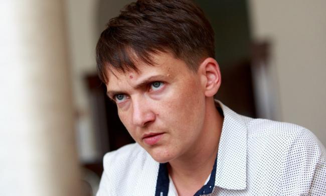 Депутат Надежда Савченко сделала громкое заявление по Донбассу