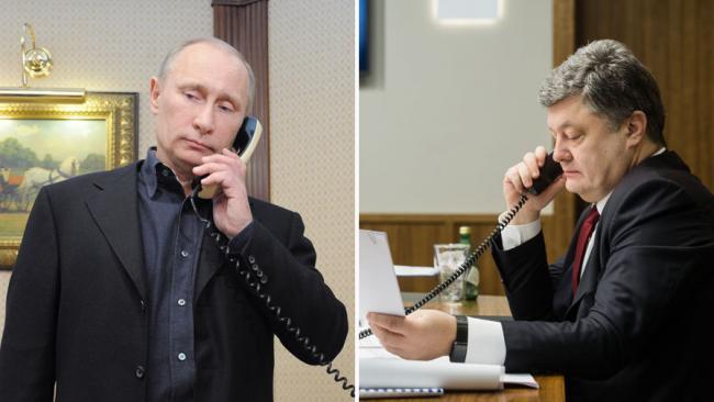 В Кремле рассказали подробности о последних переговорах Порошенко и Путина
