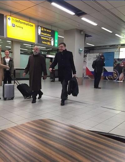 Саакашвили видели в Нидерландах (ФОТО)