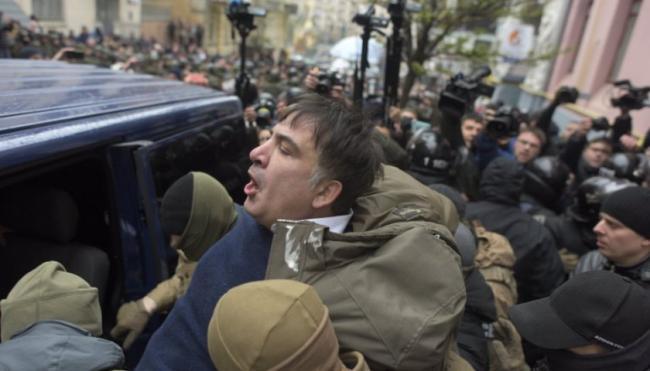 Соратники изгнанного из Украины Михаила Саакшвили анонсировали масштабную акцию протеста