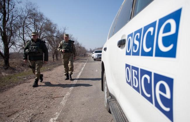 ОБСЕ за сутки зафиксировала более 500 взрывов на Донбассе