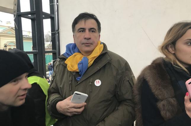 Саакашвили: Из Украины меня выдворяла личная охрана Порошенко