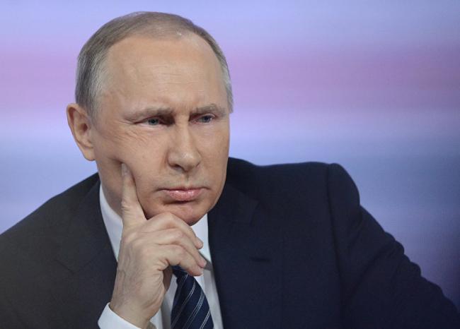 Владимир Путин отметился резонансным заявлением о Революции достоинства в Украине