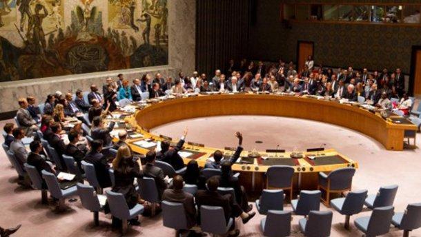 Украина созывает спецзаседание Совбеза ООН из-за выборов президента России в Крыму