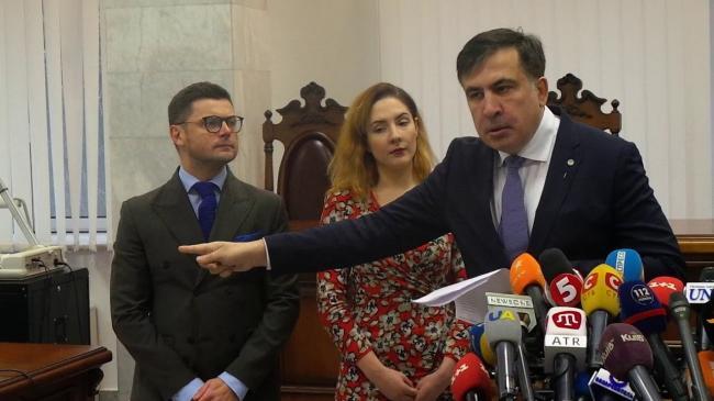 Битва в европейском суде: Михаил Саакашвили пожаловался на действия украинских властей