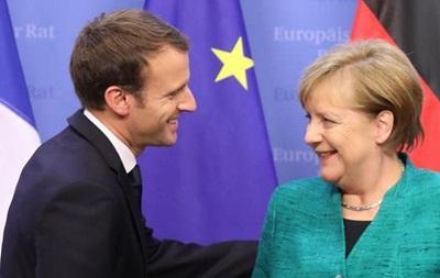 Германия и Франция осудили путинские