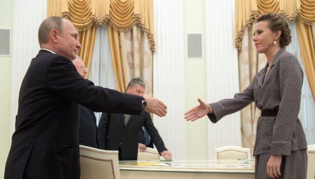 Украинский вопрос: Ксения Собчак обратилась к Владимиру Путину