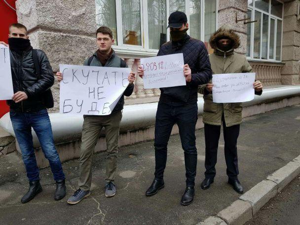 В Украине пышно проводили российских дипломатов