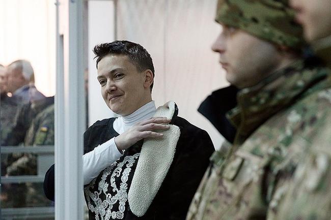 Надежда Савченко заявила о желании принять участие в выборах президента Украины (ВИДЕО)