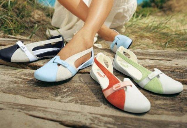 Модные тенденции летней спортивной обуви