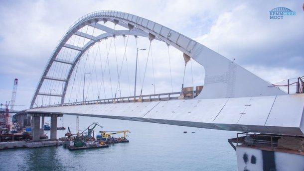 Строительство Керченского моста перешло в финальную стадию