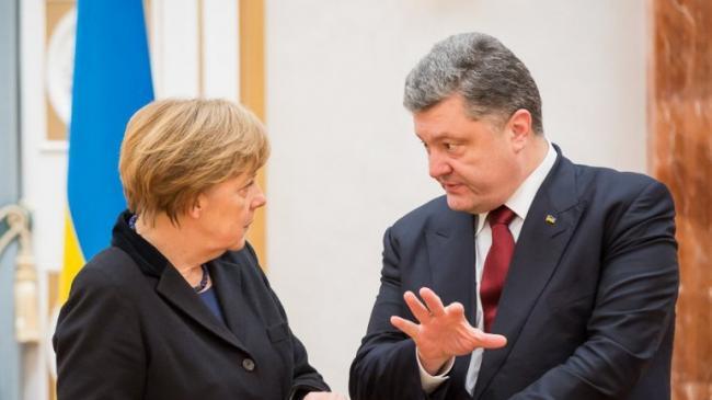 Путин больше не нужен: Порошенко и Меркель обошлись без него