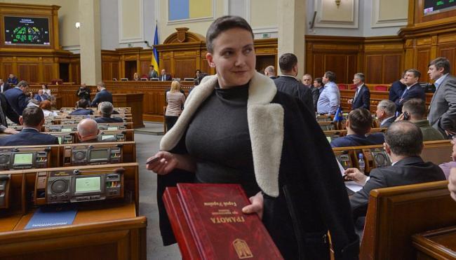 Надежда Савченко написала письмо генеральному прокурору Украины