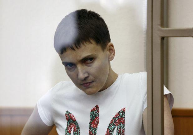 Проверка Савченко на полиграфе: процедура приостановлена из-за проблем с сердцем