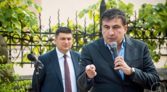 Напомнил о себе: Саакашвили жестко раскритиковал действующего премьер-министра Украины