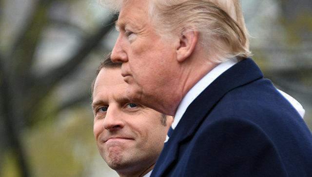 Макрон заявил, что Трамп не поддерживает сделку с Ираном