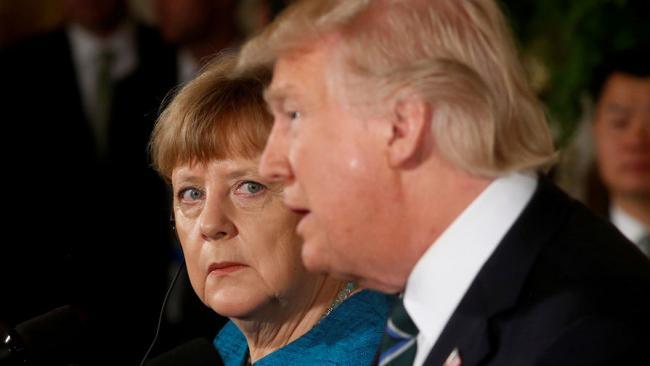 Лидеры США и Германии обсудят обострение ситуации в зоне боевых действий на Донбассе