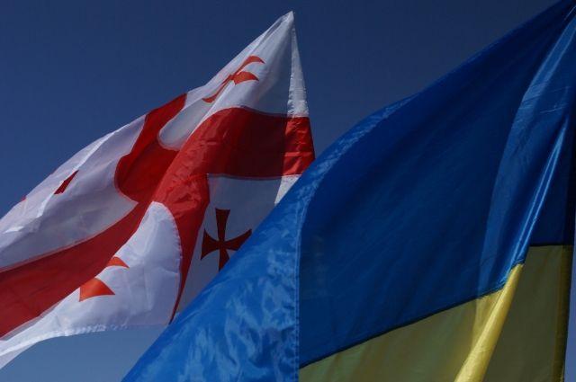 Украина и Грузия подписали договор о сотрудничестве