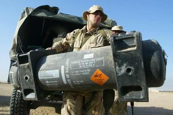 Американские противоракетные комплексы Javelin доставили в Украину