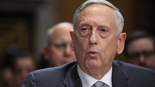 Мэттис оценил уровень боевой готовности вооруженных сил КНДР