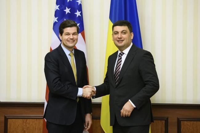 В Украину прибыл с визитом представитель США