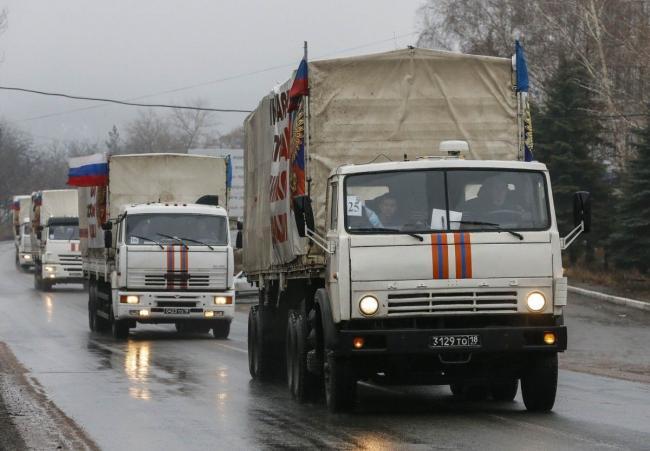 РФ отправила очередной «гумконвой» на оккупированный Донбасс