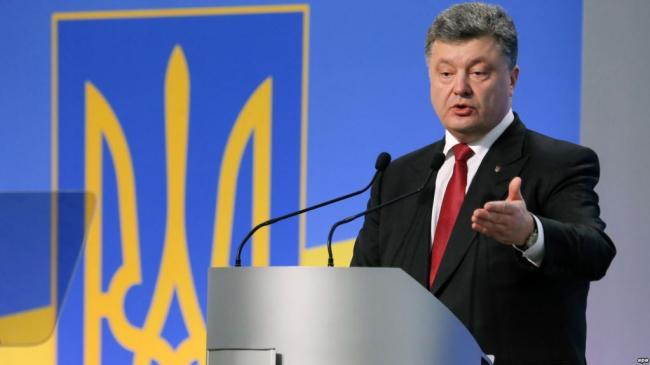 Петр Порошенко анонсировал проведение выборов на оккупированной территории Донбасса