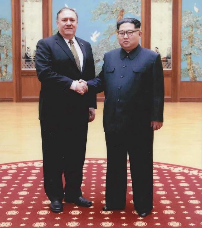 Госсекретарь США Майк Помпео отправился в КНДР на встречу с Ким Чен Ыном
