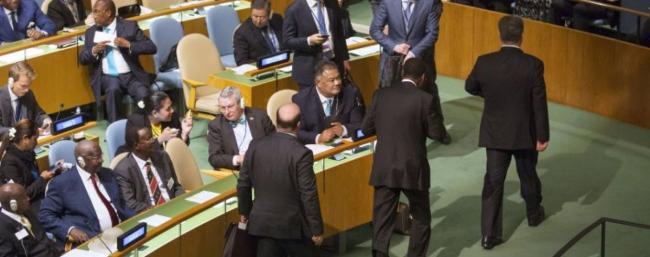 Украинская делегация в ООН высказалась за ограничение права вето
