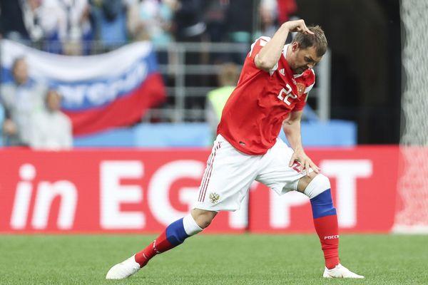 Артём Дзюба— в стартовом составе сборной России на матч с Египтом
