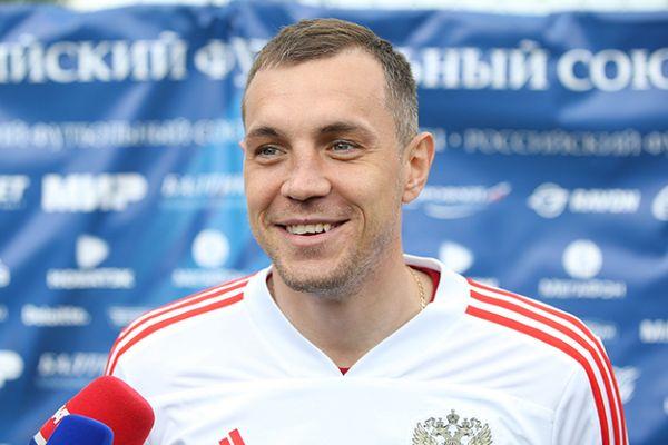 Дзюба и Габулов определились с игровыми номерами на ЧМ-2018
