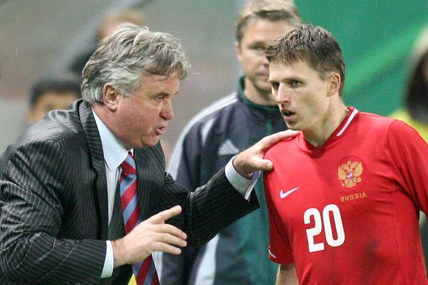 Хиддинк напутствовал Семшова перед назначением в новомосковский «Химик»