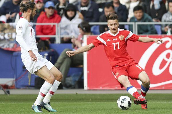 Сборная России сыграла вничью с Турцией, Дзюба остался в запасе