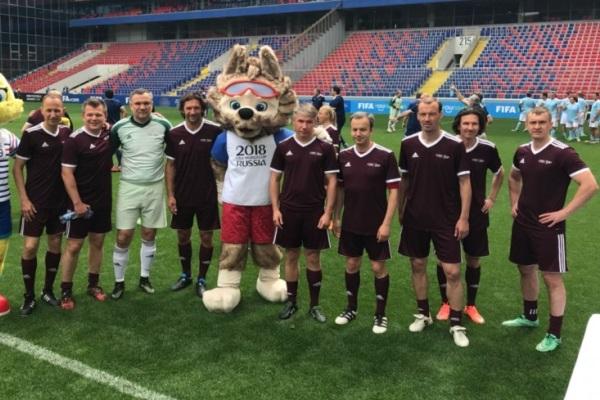 Экс-арсеналец Егор Шайков сыграл в турнире делегатов ФИФА