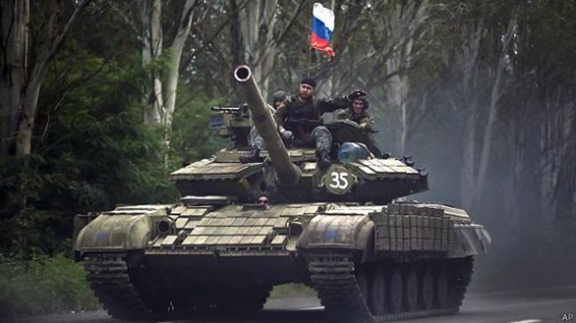 Война на Востоке Украины: Путин может вывести часть войск с Донбасса