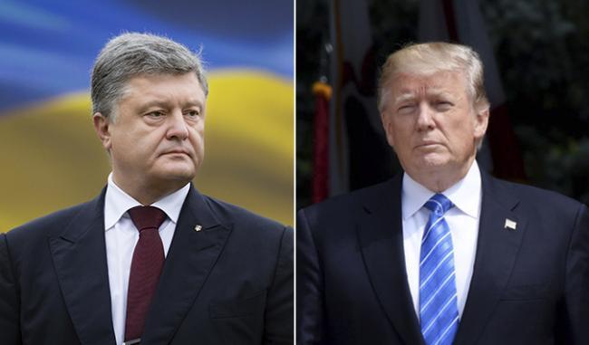 Президент Украины пообщался с Дональдом Трампом
