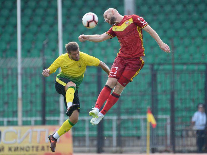 Тульский «Арсенал» сыграл вничью с «Анжи»