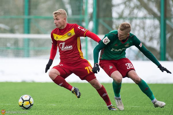 Тульский «Арсенал-м» победил «Ошмяны-БГУФК»