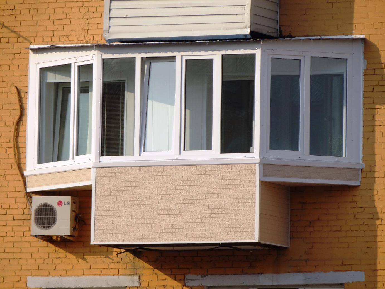 Как увеличить площадь балкона?