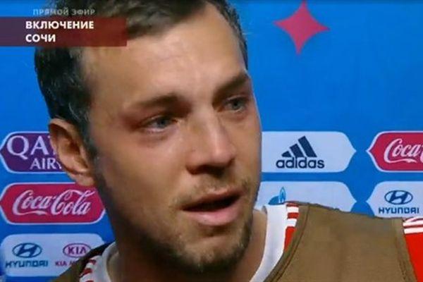 Артём Дзюба: Наши сердца разбиты, но мы сражались как львы