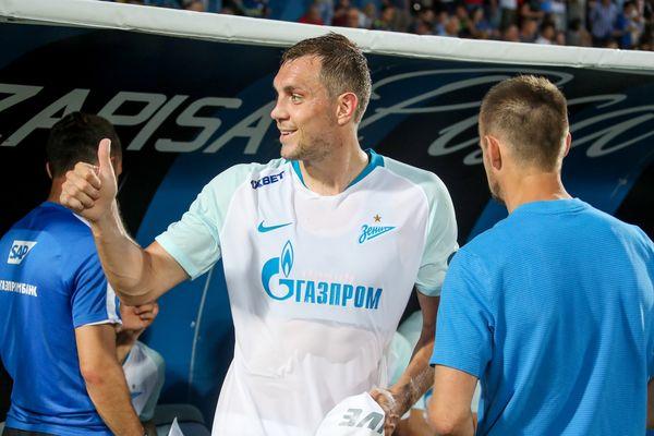 Артём Дзюба впервые сыграл за «Зенит» после возвращения из «Арсенала»
