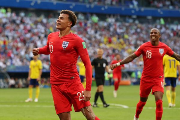 Сборная Англии вышла в полуфинал ЧМ-2018