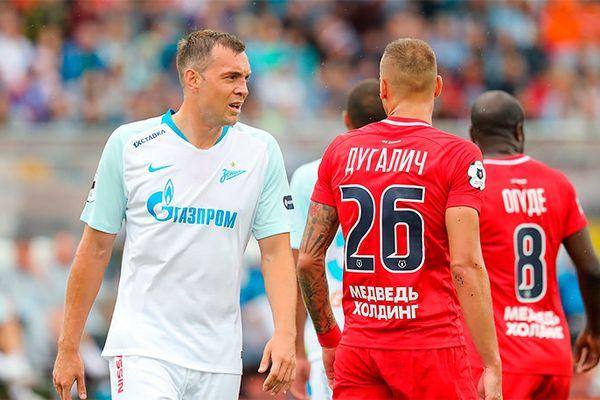 Дзюба забил «Енисею» Аленичева, «Рубин» выиграл у «Краснодара»