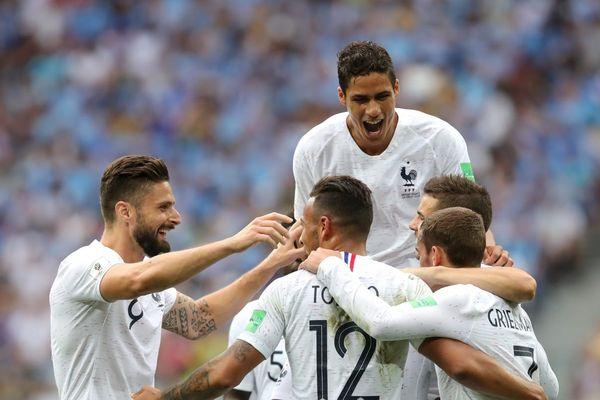 Сборная Франции— первый полуфиналист ЧМ-2018
